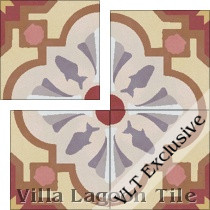 Savona Gold cement tile.
