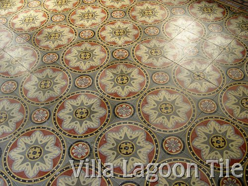 north african tile floor