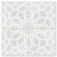 """Andalusia Fog"" Moroccan Cement Tile, from Villa Lagoon Tile."