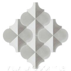"""Arabesque Classic """"Terrace Shadow Sencillo"""" Moroccan Lantern Cement Tile, from Villa Lagoon Tile."""