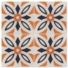 """Arthur Marrakesh"" Traditional Cement Tile, from Villa Lagoon Tile."