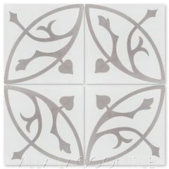 """""""Boden H Sencillo"""" Traditional Cement Tile, from Villa Lagoon Tile."""