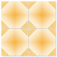 """""""Buzz Maple Sugar Ombré"""" Geometric Ombré Cement Tile, by Villa Lagoon Tile."""