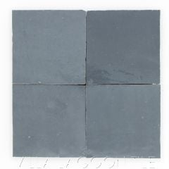 """""""Charcoal"""" Glazed Zellige, a Moroccan Mosaic Tile, from Villa Lagoon Tile."""
