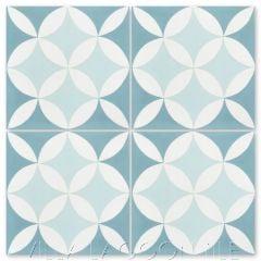 """""""Circulos A Cielo"""" Geometric Cement Tile, from Villa Lagoon Tile."""