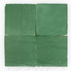 """""""Evergreen"""" Glazed Zellige, a Moroccan Mosaic Tile, from Villa Lagoon Tile."""