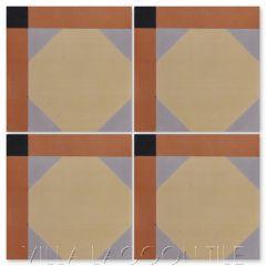 """Giovanni Giardino"" Venice-Inspired Cement Tile, from Villa Lagoon Tile."