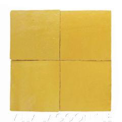 """Goldenrod"" Glazed Zellige, a Moroccan Mosaic Tile, from Villa Lagoon Tile."