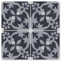 """""""Gwen Primero"""" Floral Cement Tile, from Villa Lagoon Tile."""