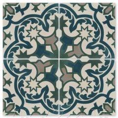 """Havana Cantina Laguna"" Moroccan Cement Tile, from Villa Lagoon Tile."