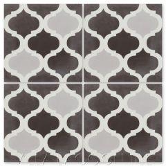 """""""Lantern Trellis Three"""" Moroccan Cement Tile, from Villa Lagoon Tile."""