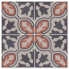 """Lisbon Primero"" Cuban Cement Tile, from Villa Lagoon Tile."