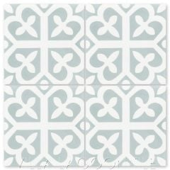 """Lucky Primero"" Traditional Cement Tile, from Villa Lagoon Tile."