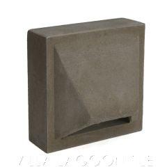 """Molokai"" Natural Gray Geometric Breeze Blocks, by Villa Lagoon Tile."