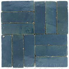 """Oceanside"" Bejmat Zellige, a Moroccan Mosaic Tile, from Villa Lagoon Tile."