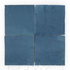 """Oceanside"" Glazed Zellige, a Moroccan Mosaic Tile, from Villa Lagoon Tile."