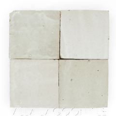 """""""Oyster Shell"""" Glazed Zellige, a Moroccan Mosaic Tile, from Villa Lagoon Tile."""