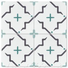 """Ozaz April"" Modern Cement Tile, by Villa Lagoon Tile."