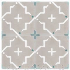 """Ozaz September"" Modern Cement Tile, by Villa Lagoon Tile."
