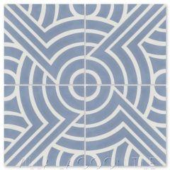 """Props Monterey"" Modern Geometric Cement Tile by Neyland Design, from Villa Lagoon Tile."