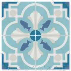 """""""Savona A Seaside"""" Coastal Cement Tile, from Villa Lagoon Tile."""