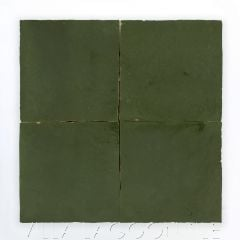 """""""Deep Forest"""" Glazed Zellige, a Moroccan Mosaic Tile, from Villa Lagoon Tile."""