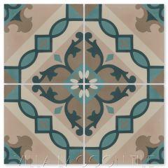 """Timba Abuela"" Cuban Cement Tile, from Villa Lagoon Tile."