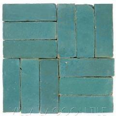 """Waterfall"" Bejmat Zellige, a Moroccan Mosaic Tile, from Villa Lagoon Tile."