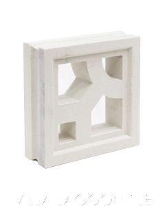 Capri Breeze Blocks (Natural White)