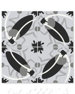 """Cucaracha Sencillo"" Whimsical Wildlife Cement Tile by Jeff Shelton, from Villa Lagoon Tile."