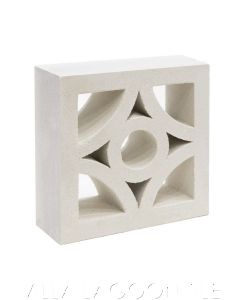 Curacao Breeze Blocks (Natural White)