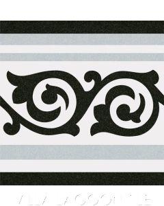 Gibert Gris Border Edge Ceramic Tile