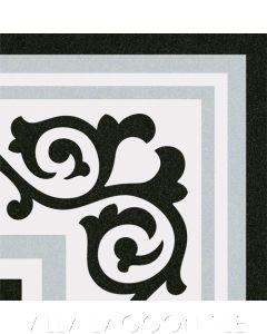 Gibert Gris Border Corner Ceramic Tile