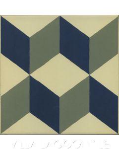 Güell Cubes Ceramic Tile