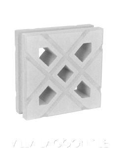 Lanai Breeze Blocks (Natural White)