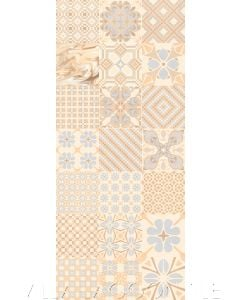Patchwork Crema Ceramic Tile