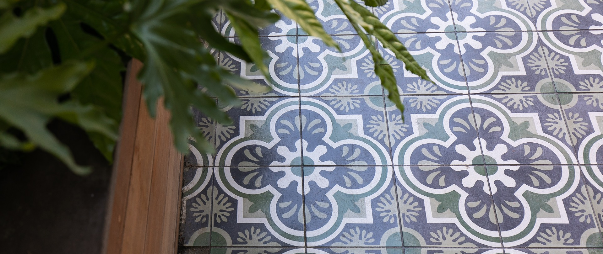 Create your own Joy with Custom Cement Tile! Design your own with our Tile Design Tool.