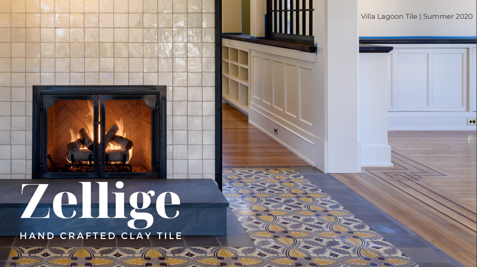 Zellige - Hand Crafted Clay Tile. Coming to Villa Lagoon Tile Summer 2020.